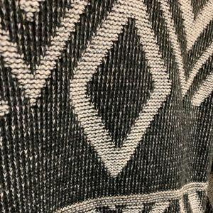 Vintage-Look Patterned Sweater